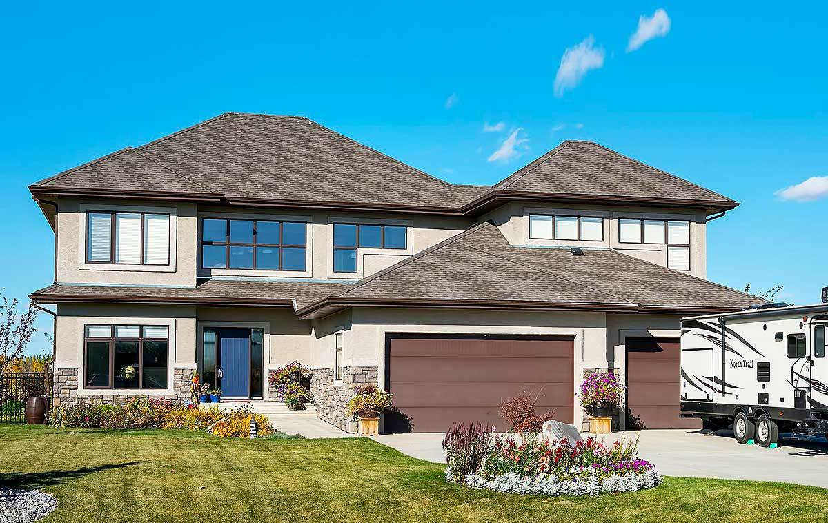 Traditional house plan with bonus room 81666ab for Www houseplans net