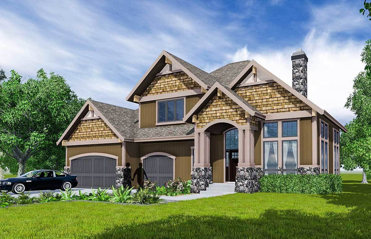 Detailed craftsman house plan 81667ab architectural for Detailed house plans