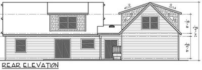 Country home with studio over garage 8186lb for Studio over garage plans