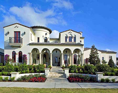 Spanish villa house plans designs home design and style for Spanish villa house
