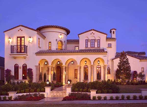 Spanish villa with studio 82005ka 1st floor master for Spanish villa house