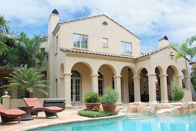 Luxury Spanish Colonial House Plan 82012ka