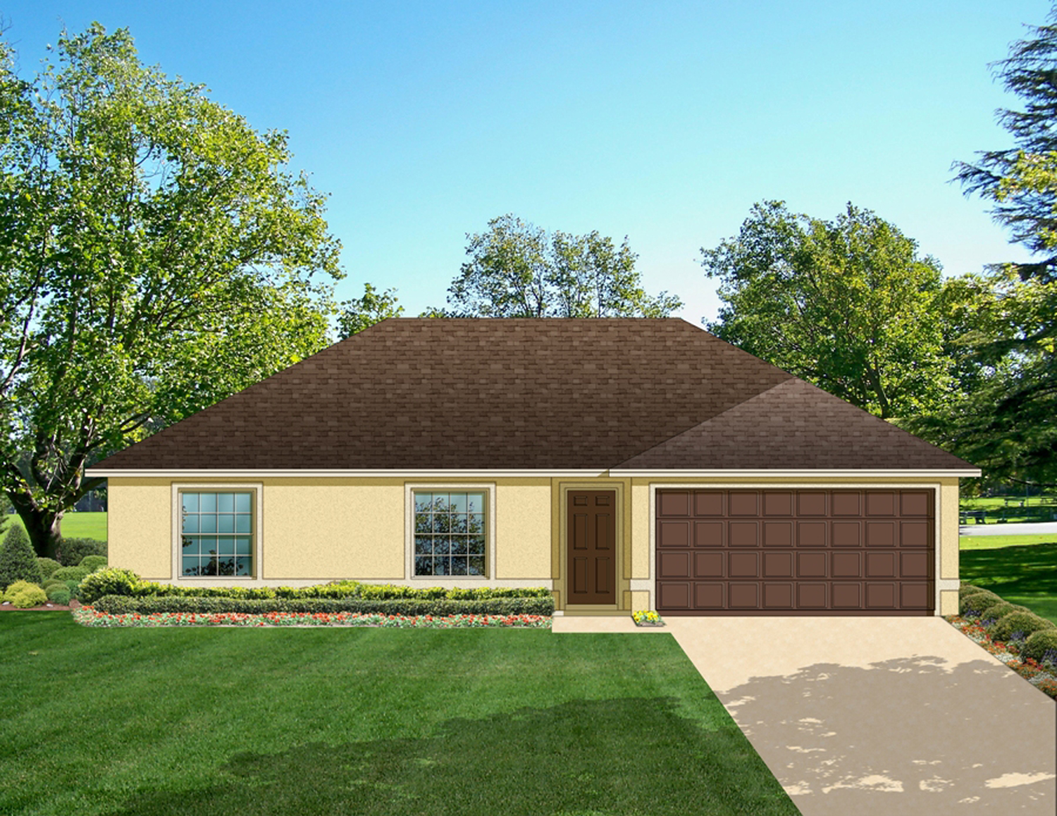 Economical 3 Bed Ranch Home Plan 82021ka Architectural
