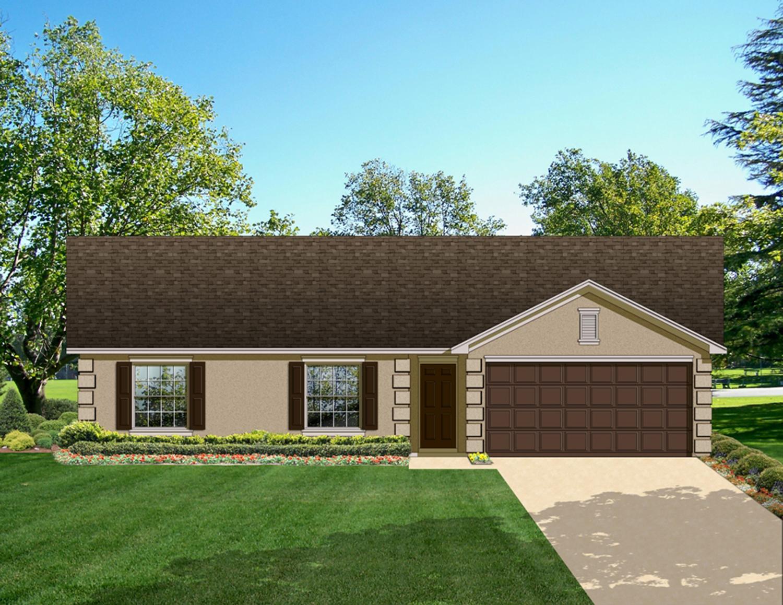 Economical Ranch Home Plan 82022ka Architectural