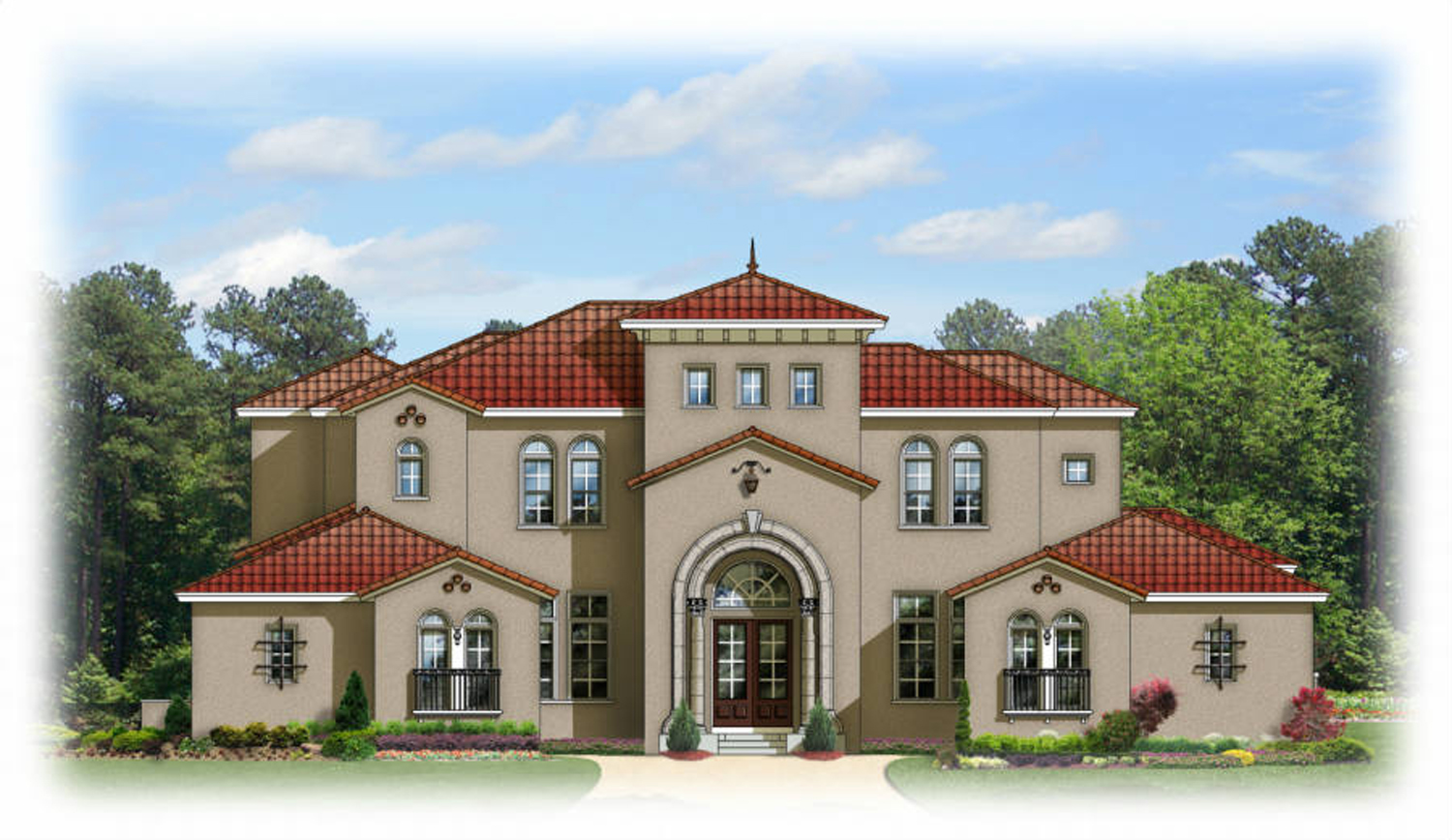 Ultra Luxury In A Mediterranean Package 82066ka Architectural Designs House Plans