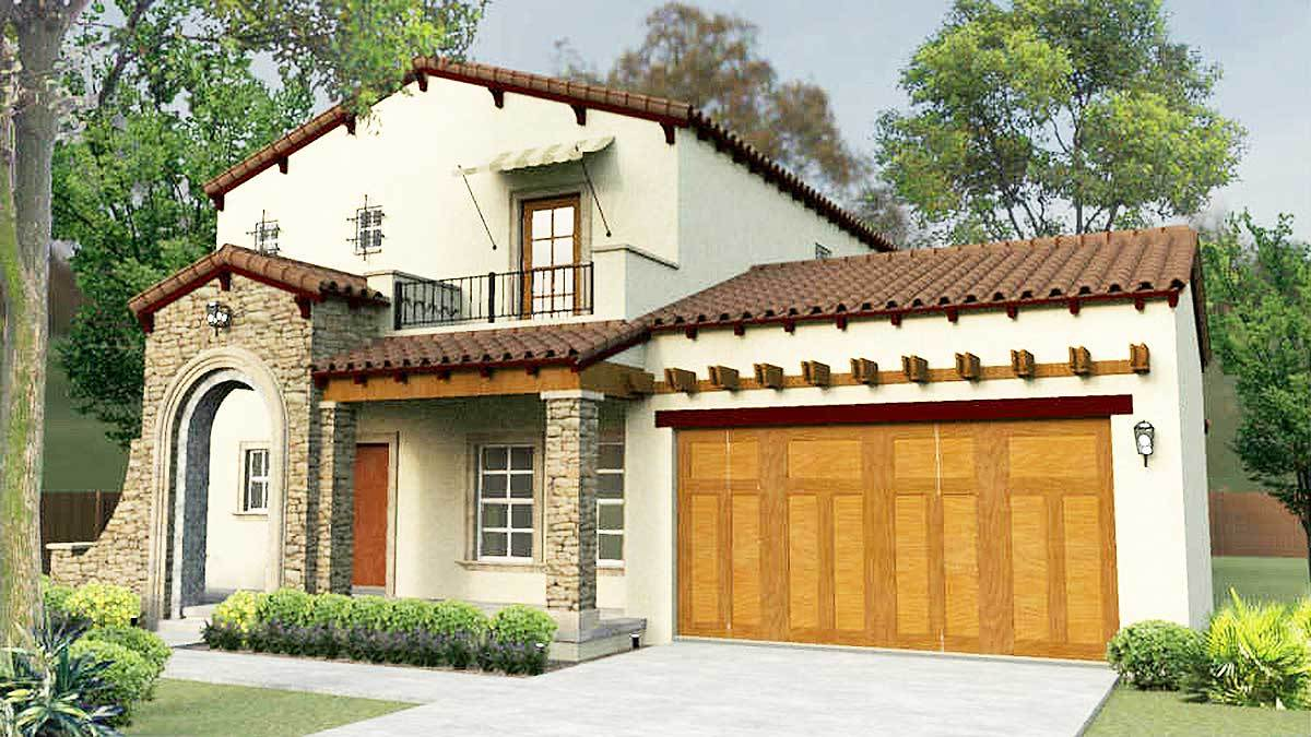 Southwest house plans architectural designs for Southwest style house plans
