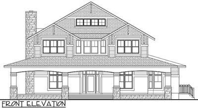 Craftsman house plan with wrap around porch 82070ka for Craftsman house plans with wrap around porch