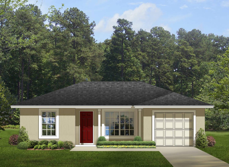 Compact Starter House Plan - 82079KA