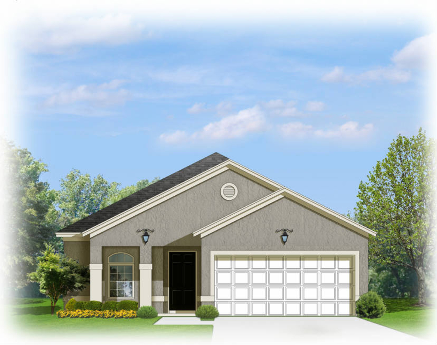 Downsize or a starter home 82082ka architectural for Downsize home plans
