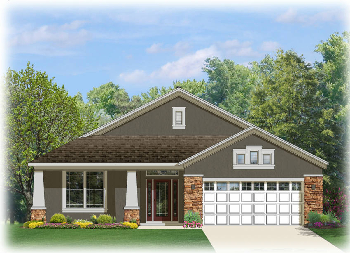 Charming bungalow house plan 82088ka 1st floor master for Charming house plans