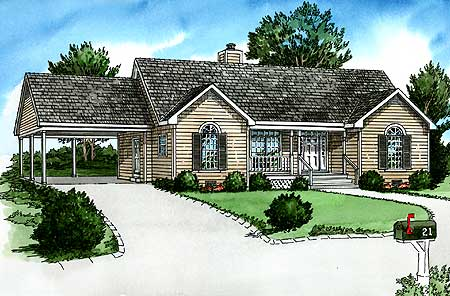 comfortable basic ranch house plan 83058dc 1st floor basic house plan ranch first floor home plans blueprints