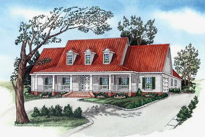 Southern charm 83088dc architectural designs house plans for Southern charm house plans