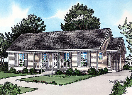 Economical ranch home 83089dc architectural designs for Economical ranch house plans
