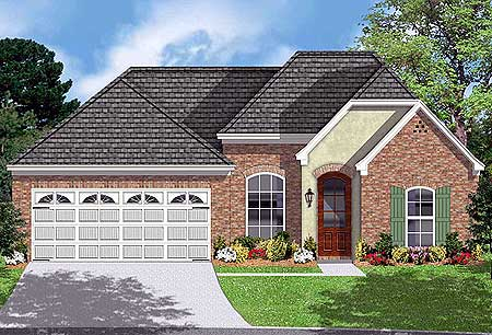 Attractive Brick And Stucco Exterior 83093dc