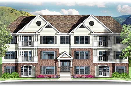 Architectural designs for 8 unit apartment building for sale