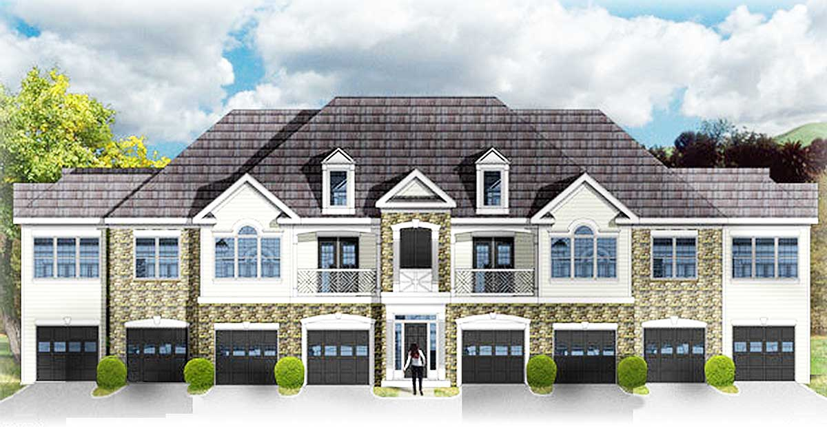 Creative 8 unit apartment building 83118dc 2 unit building plan