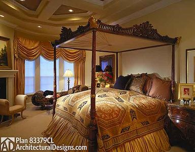 luxurious master bedroom suite 83379cl architectural designs