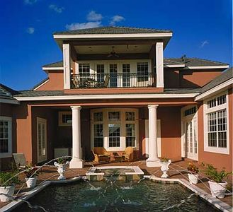 Southern Colonial with Two-Story Balcony - 83382CL thumb - 16
