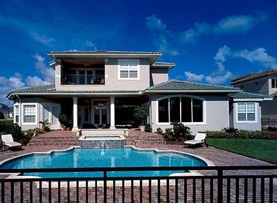 Southern Colonial with Two-Story Balcony - 83382CL thumb - 17