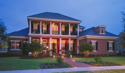 Southern Colonial with Two-Story Balcony - 83382CL thumb - 01