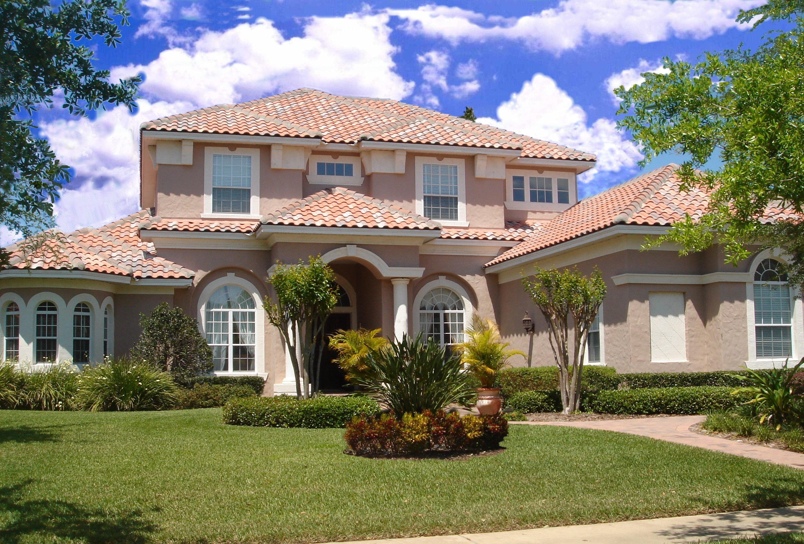 Exciting florida home plan 83391cl 1st floor master for Florida house designs