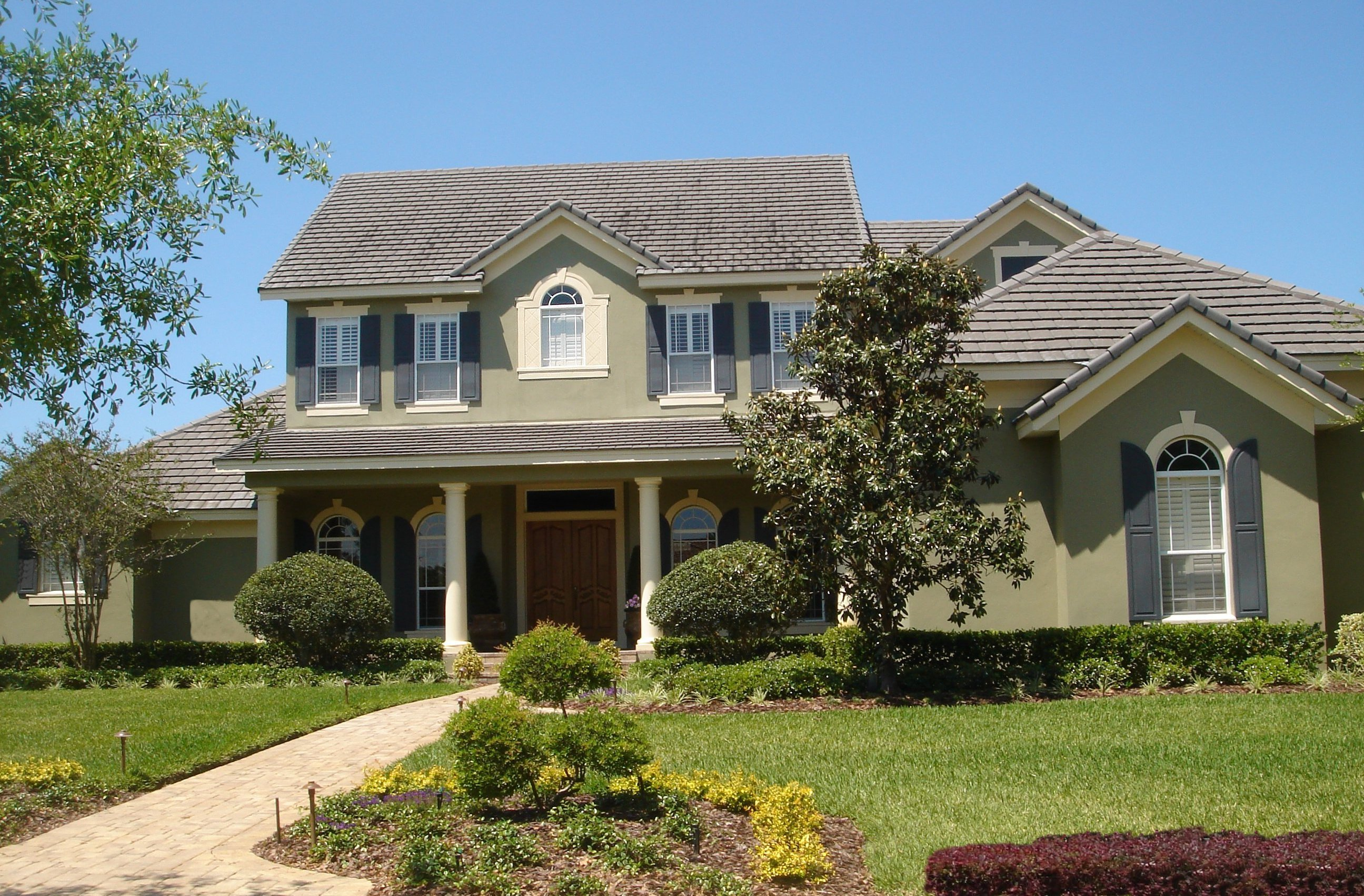 Exciting southern colonial 83397cl architectural for Colonial garage plans