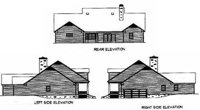 Attractive Country Home Plan - 8369DC thumb - 02