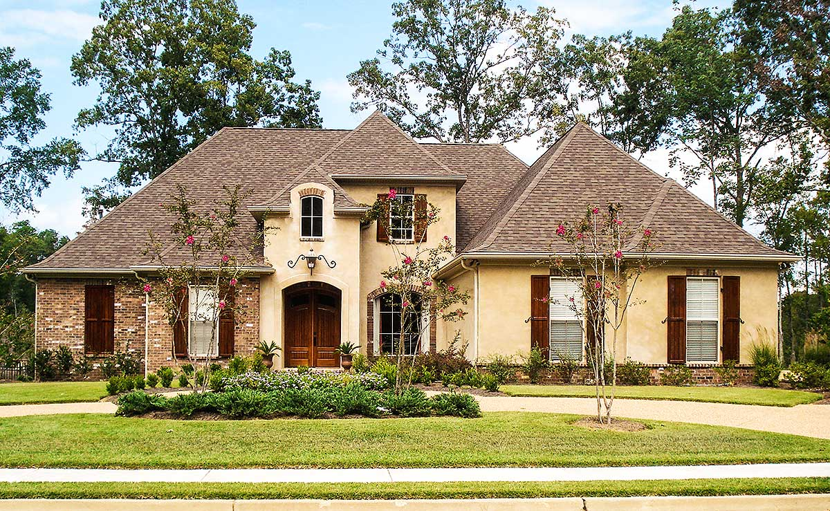 French Country House Plan With Bonus Room 83806jw Architectural Designs House Plans