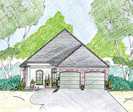 Home Plan Under 40 Feet Wide 84014jh 1st Floor Master
