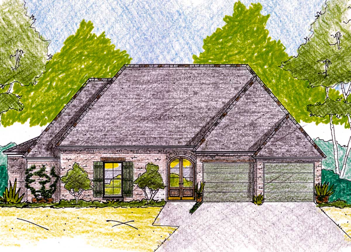 Cozy acadian cottage 84016jh architectural designs for Cozy cottage plans