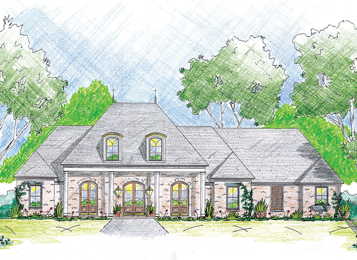 Southern splendor 84021jh architectural designs for Architectural designs com