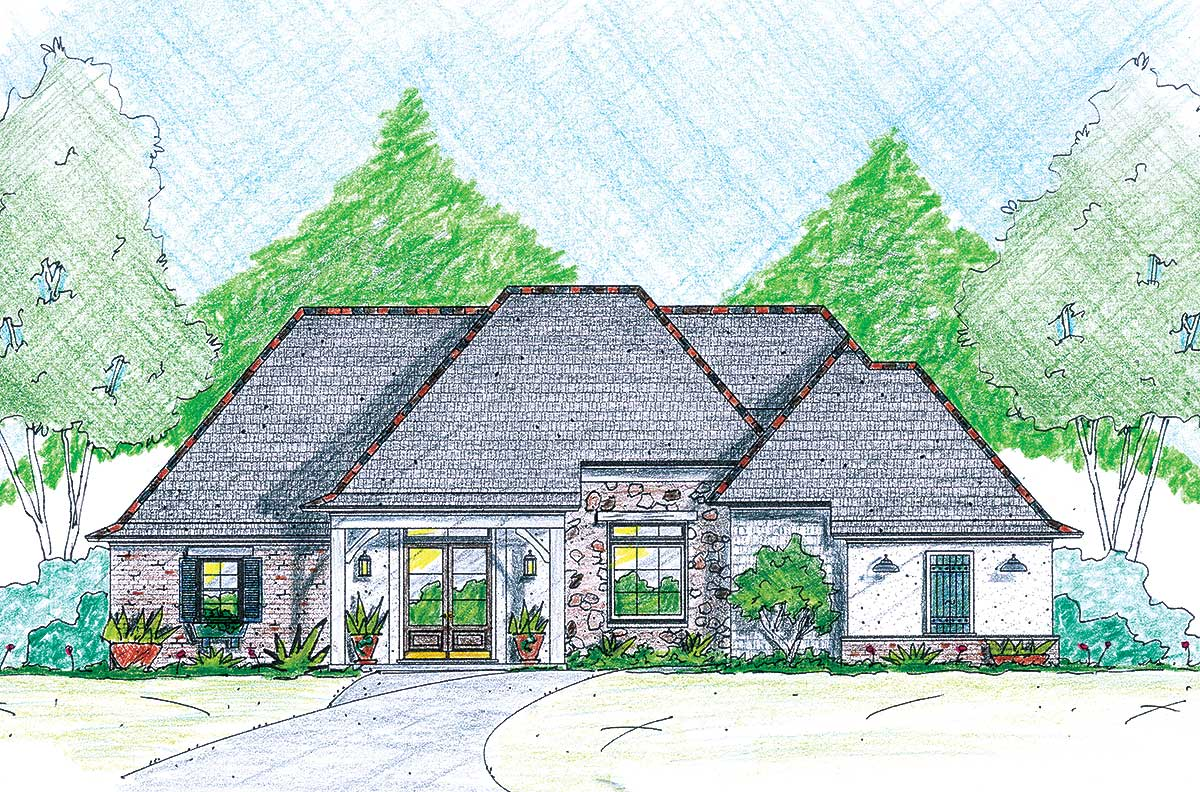 One of a kind 84034jh architectural designs house plans for One of a kind house plans