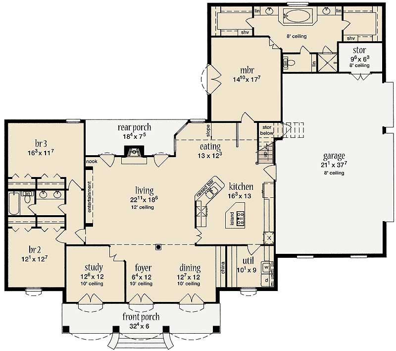 Remarkable 840 sq ft house plans images best inspiration for 840 square feet