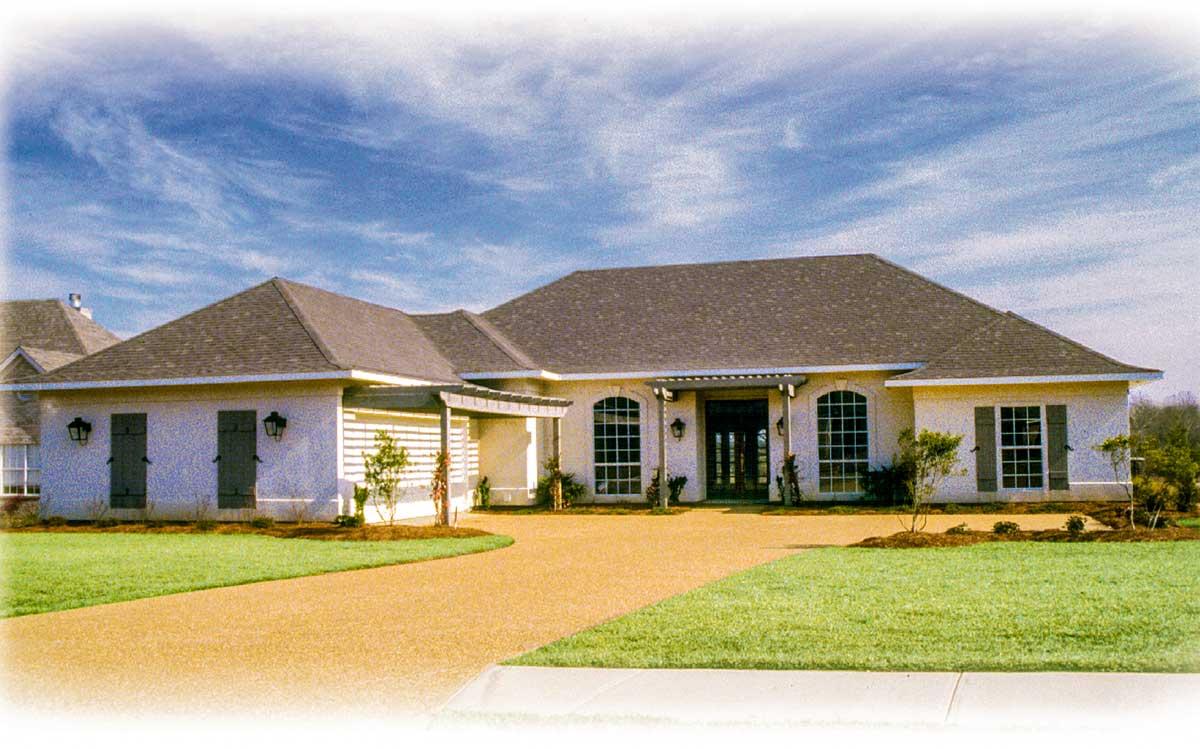 Award winning design 8418jh architectural designs for Award winning drive under house plans