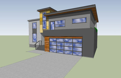 Modern with Big Family Room - 84900SP thumb - 04