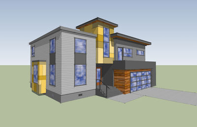 Modern with Big Family Room - 84900SP thumb - 03
