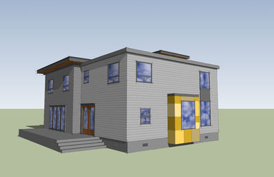 Modern with Big Family Room - 84900SP thumb - 05