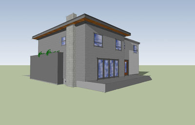 Modern with Big Family Room - 84900SP thumb - 06