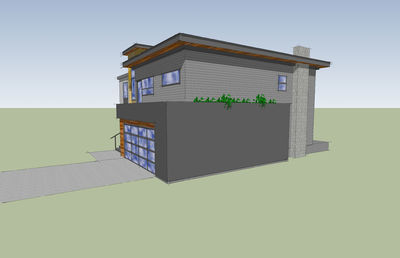 Modern with Big Family Room - 84900SP thumb - 07