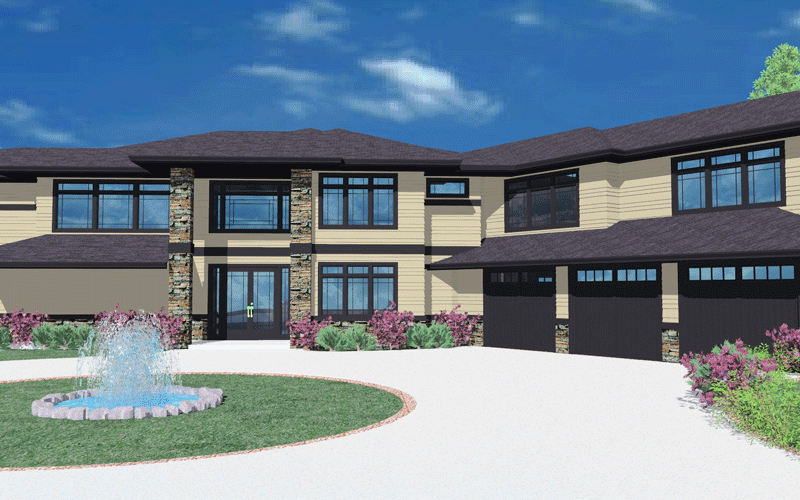 Spacious Two Story Prairie Style Home 85006ms