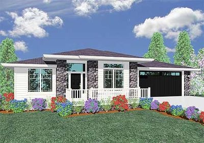 Prairie Retreat Perfect for Sloping Lot - 85013MS thumb - 02