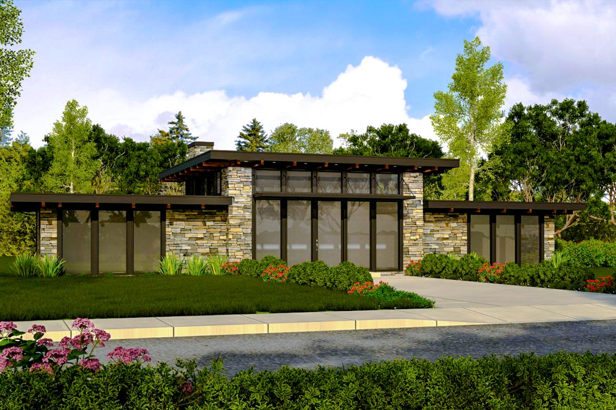 Contemporary getaway home plan 85021ms architectural for Architectural designs com