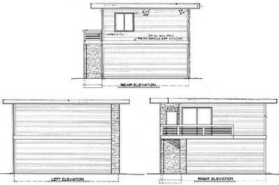 Contemporary Garage Studio - 85022MS thumb - 03