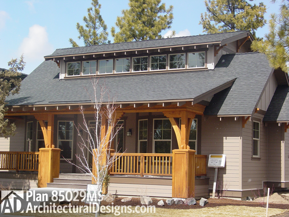 Bungalow with great front porch 85029ms architectural for Architectural designs for bungalows