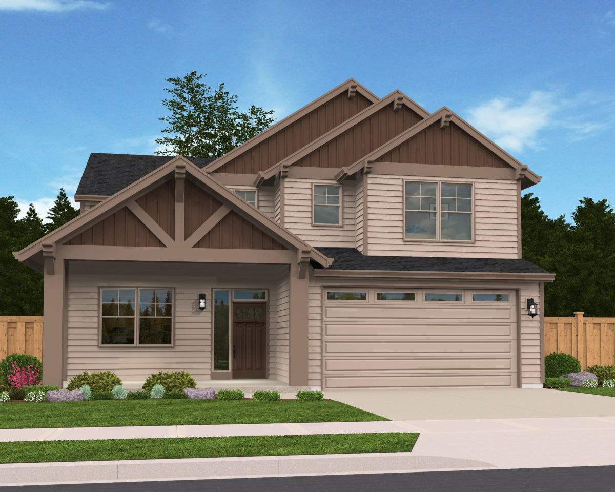 3 bed craftsman with flex garage 85095ms architectural for Craftsman house plans 3 car garage