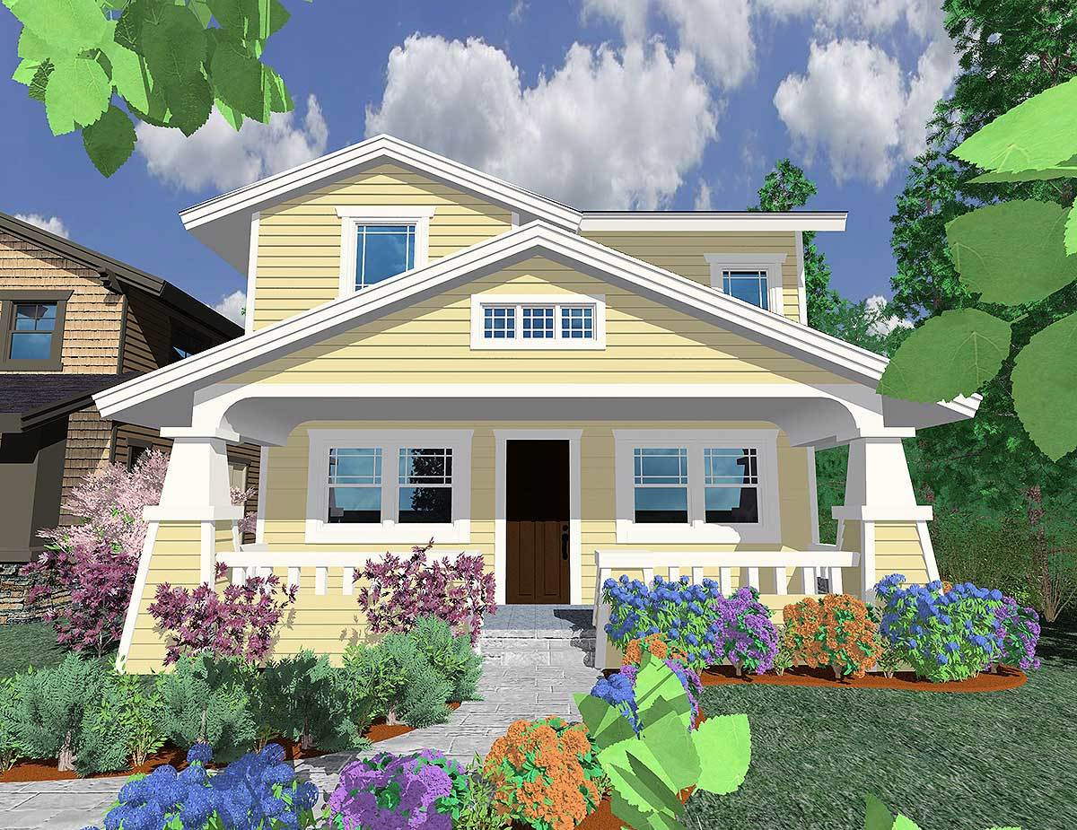 Cute bungalow 8551ms 2nd floor master suite cad for Make your dream house