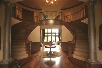 Double Curved Grand Stairway - 8586MS thumb - 03