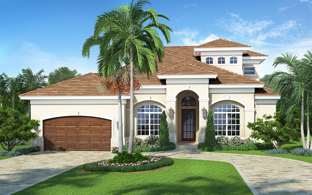 Five bedroom florida house plan 86010bw architectural for Florida house designs