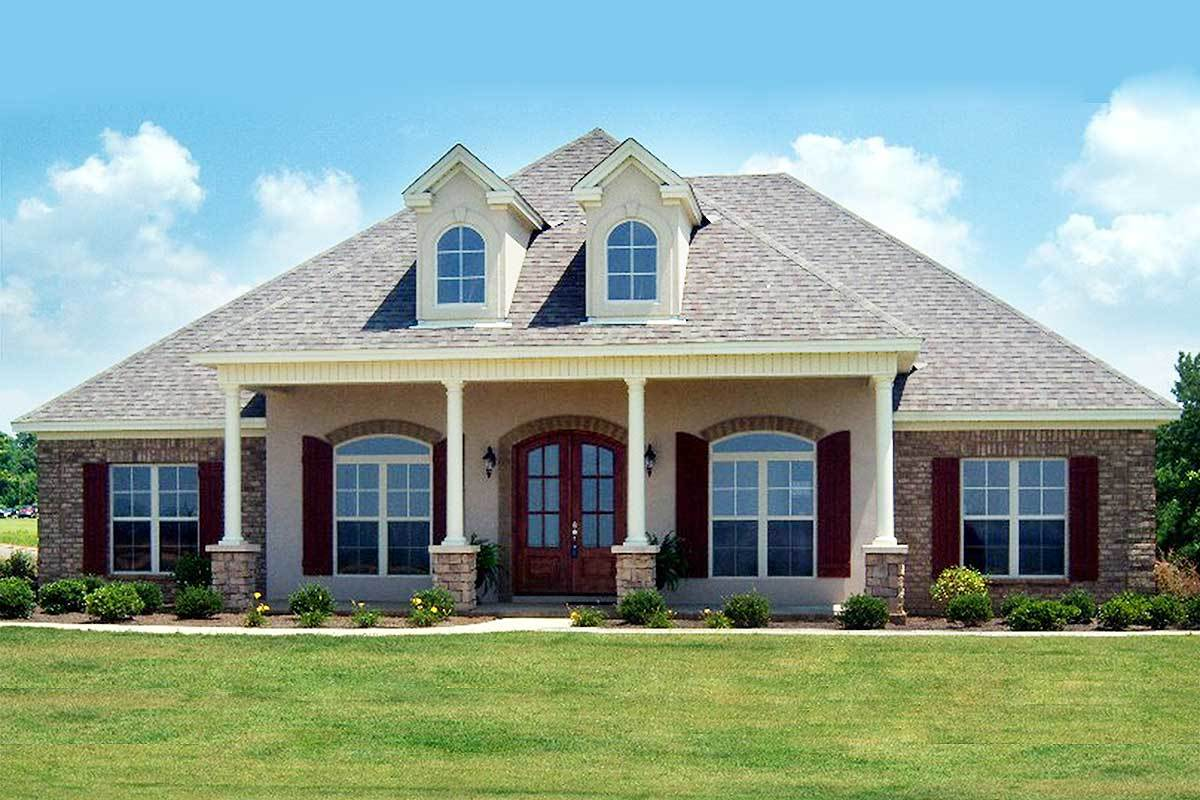 Acadian house plan with bonus room 86219hh for Acadian home plans