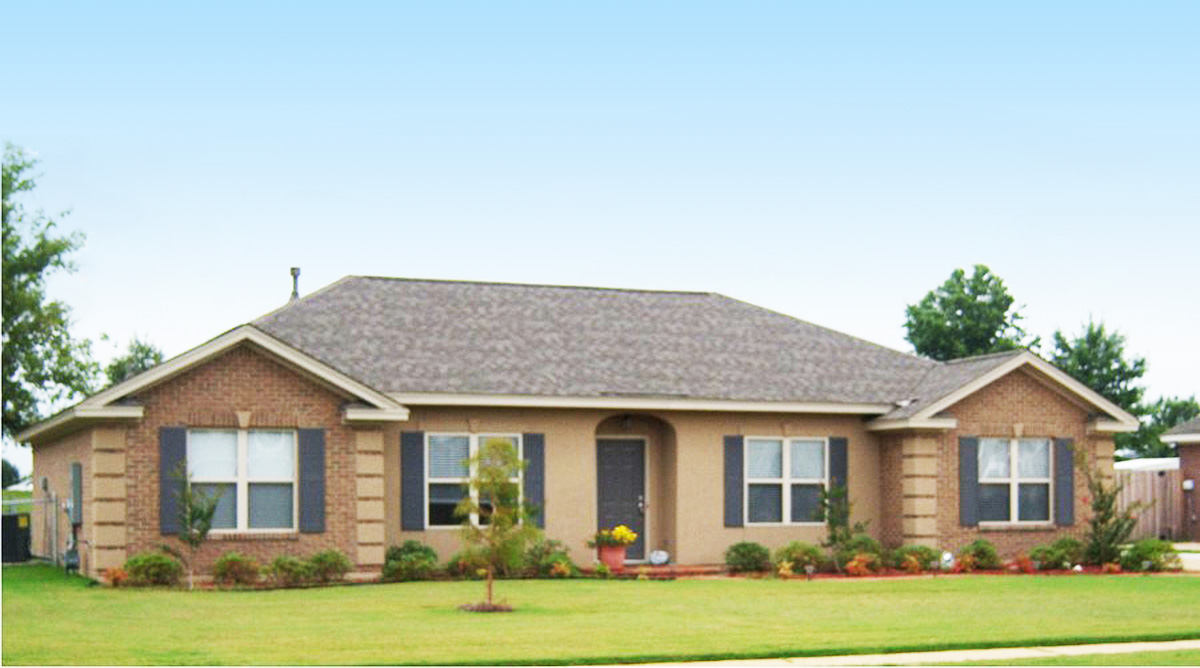 Elegant Southern Ranch Home 86295hh 1st Floor Master